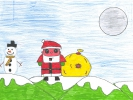 Abby Campbell, Christmas Time, age 10