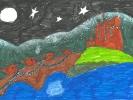 Aela Campbell, Eilean Donan Castle's Robin's Rest, age 8