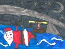 Bodhan Campbell, Santa's Abseil, age 10