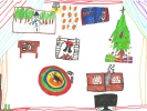 Brodie, Santa's Coming to my House, age 9