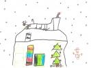 Calum MacRury, Christmas Eve, age 6