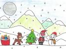 Jodie Rafique, Christmas Eve, age 11