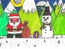 Kate Walker, It's Christmas, age 11