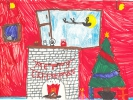 Neela-Rose Mutch, Christmas by the Fire, age 9