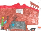 Owen, Rudolph's on the Roof, age 7