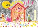 Peigi Gordon, Gingerbread House, age 6