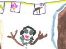Ruth Browncarr-bridge, Happy Olaf, age 6