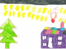 Sophie Campbell, Oidhche na Nollaig, age 4