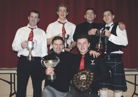 Goalkeeper Scott Kennedy picked up two prizes as Kinlochshiel Shinty Club drew their season to a close with their annual […]