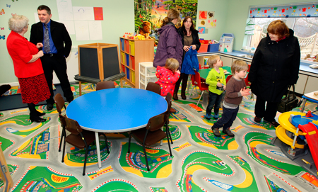 An open day at Carbost Primary School last Friday marked the official opening of a new nursery. Head teacher Sara […]