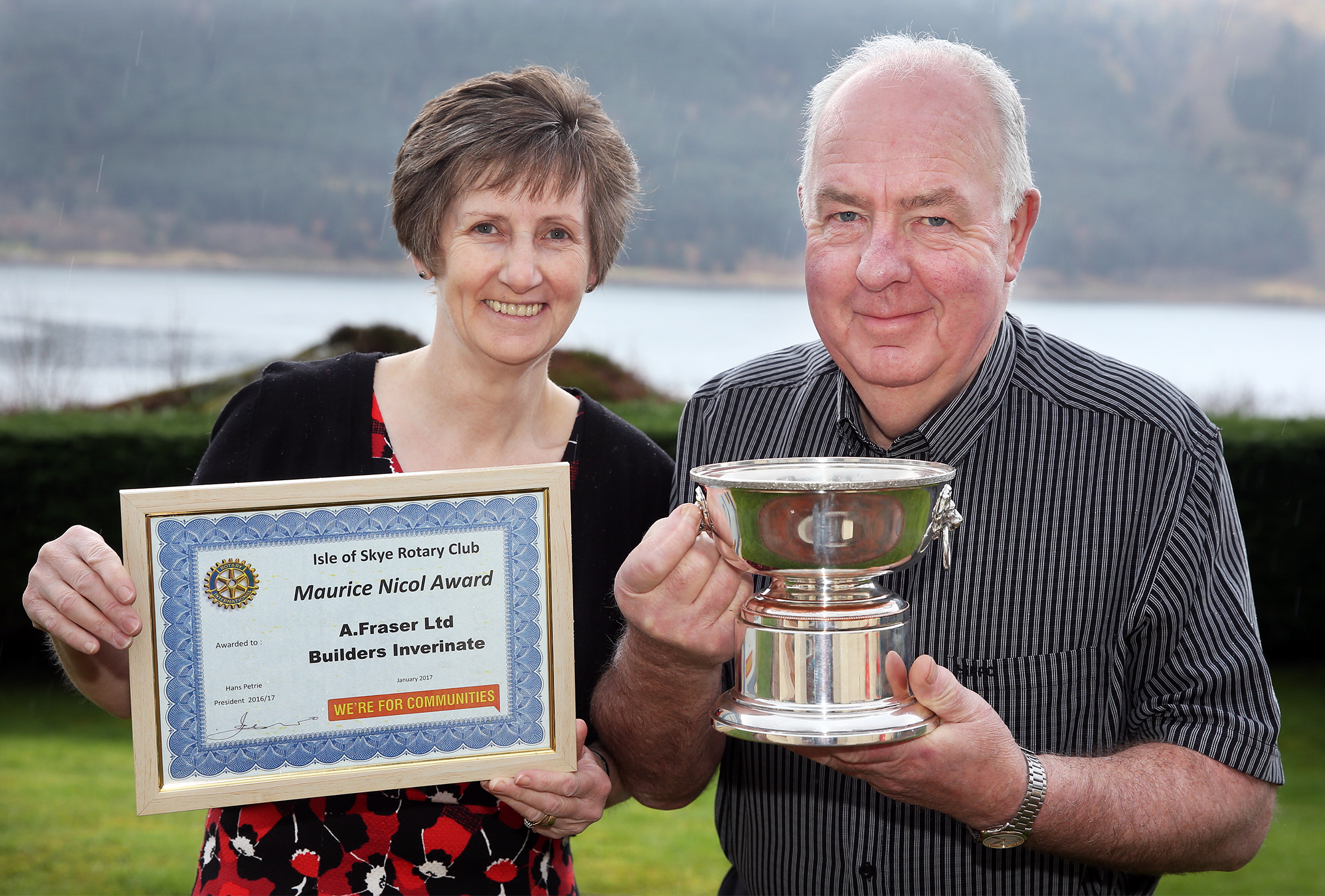 ROTARY CITIZEN OF YEAR - IAN FRASER 1