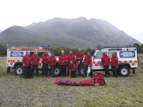 Kintail Mountain Rescue Team receive two fully-equipped Landrovers