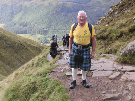 Intrepid Ullapool man intent on Himalayan charity trek