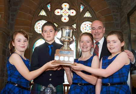 North Skye children celebrate early Mod success
