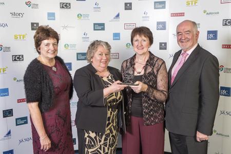 Haul of SQA awards for Castlebay School