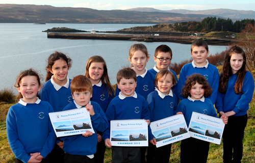 Raasay pupils say thanks for help