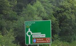 a82-road-sign