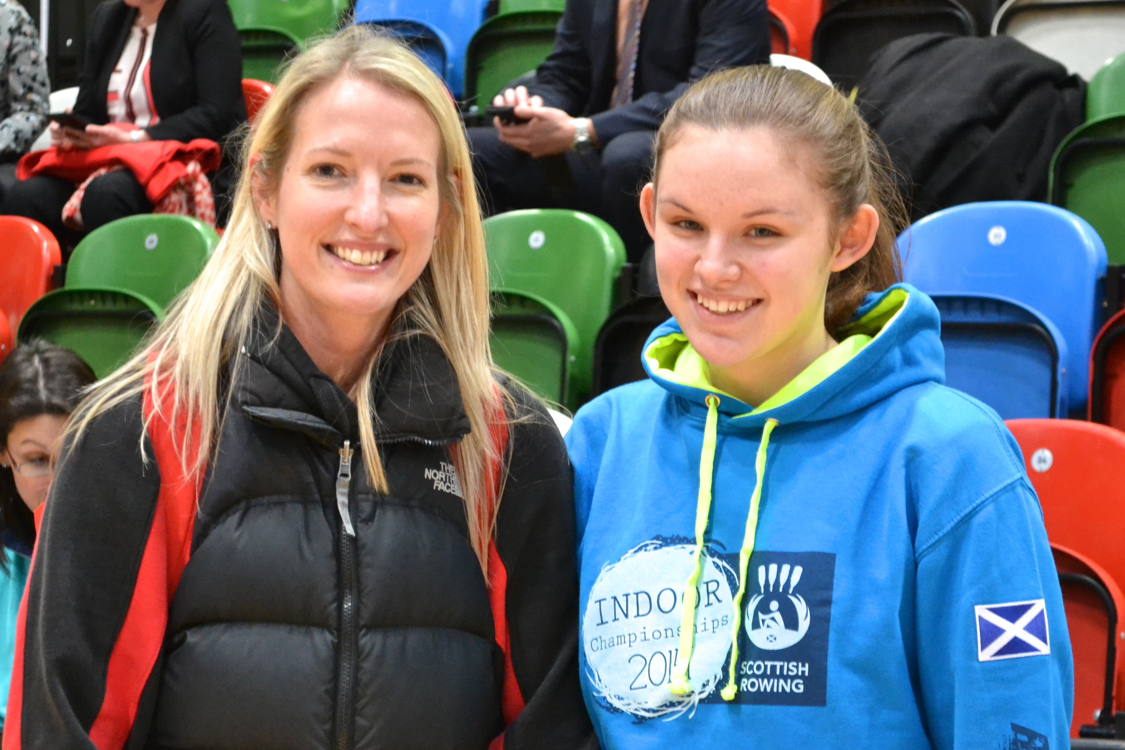 While in London Sara met Rachel Laybourne, a Team GB volleyball player at London 2012, and spent the afternoon with her trying out different games and encouraging participants