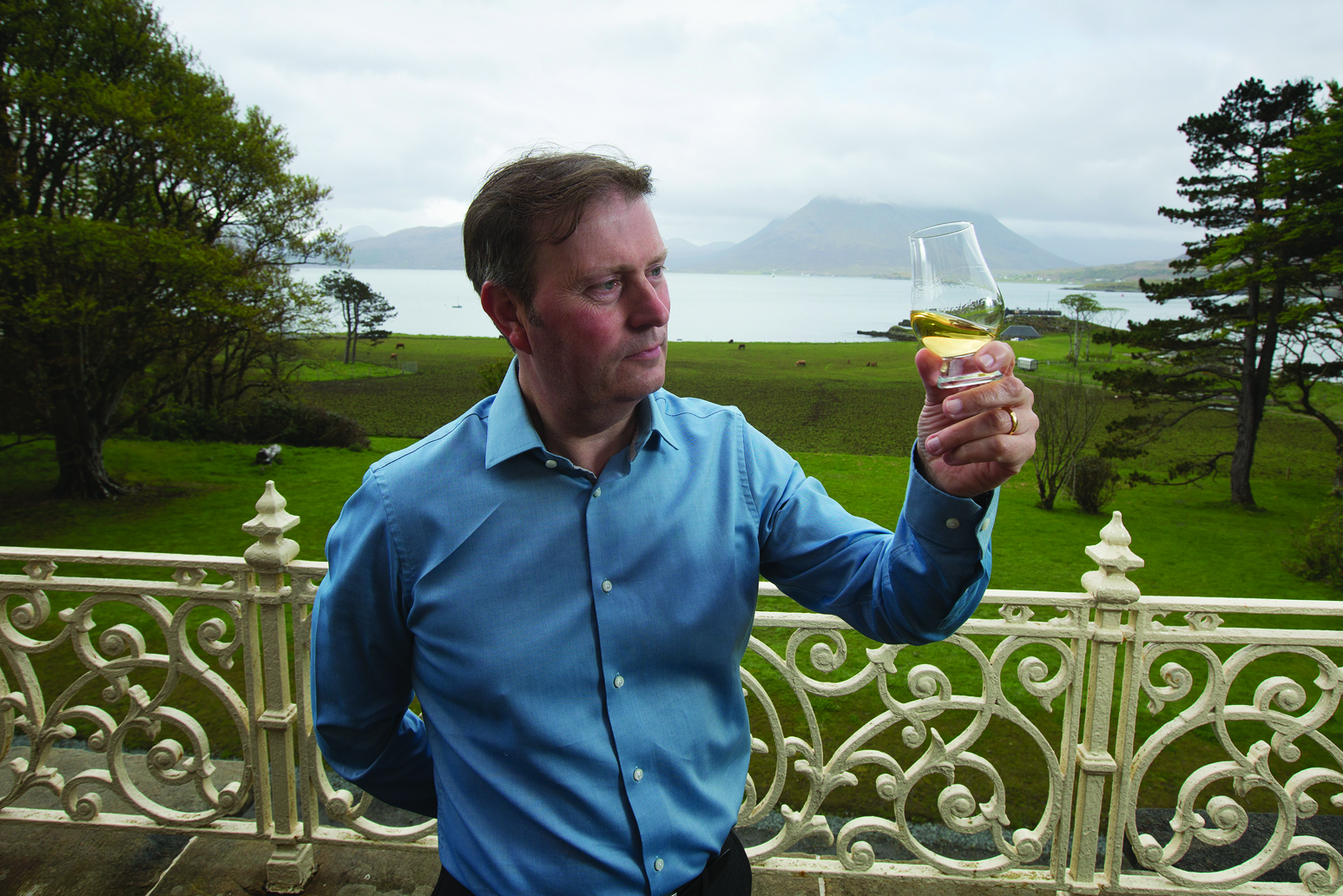 """Free first use courtesy of LUX, The Food & Drink Agency. R&B Distillers are converting Borodale House on Raasay  into a """"niche"""" distillery. Pictured: Business Alasdair Day"""