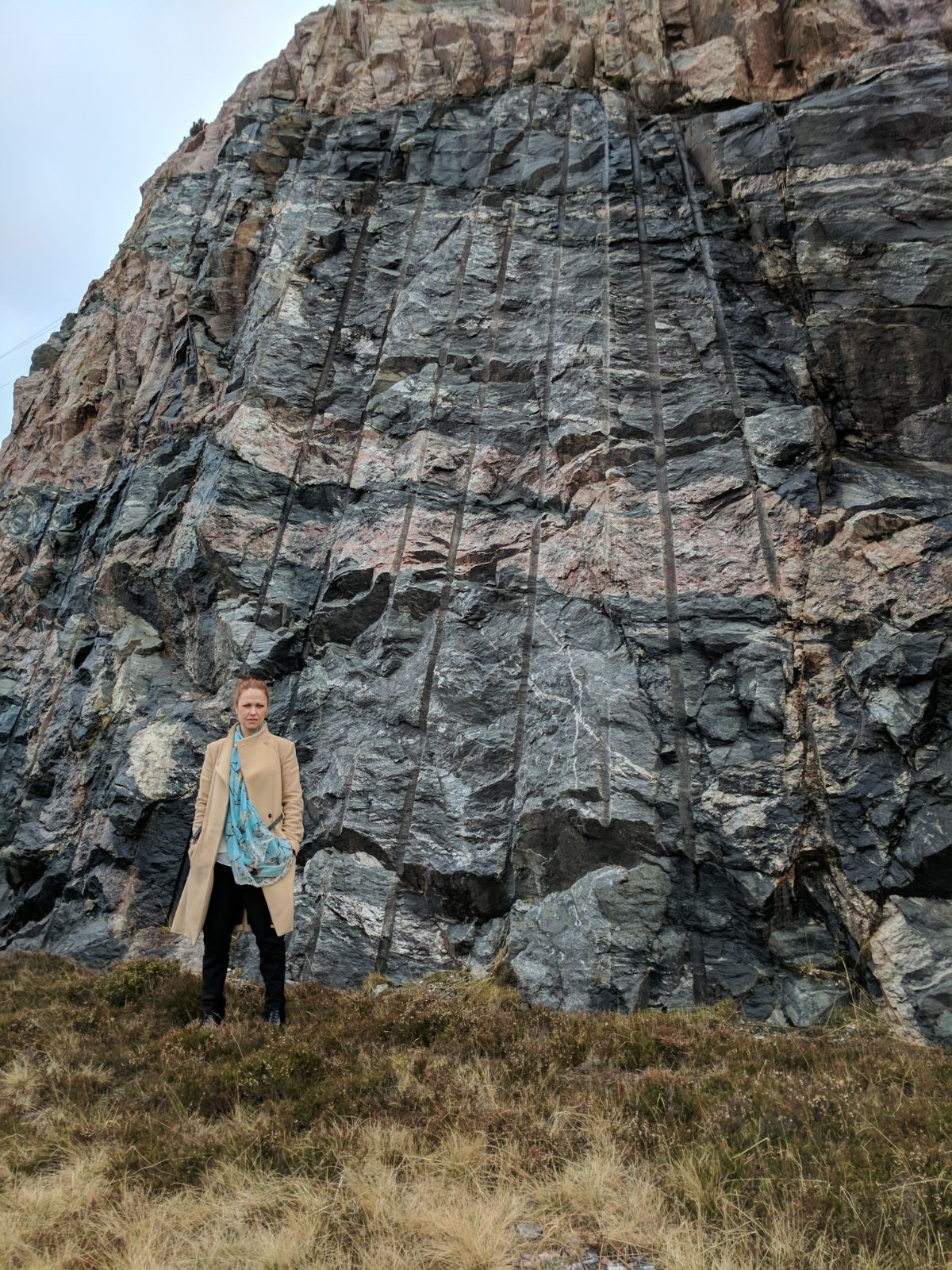 Gail Ross has backed the campaign to save the Geopark