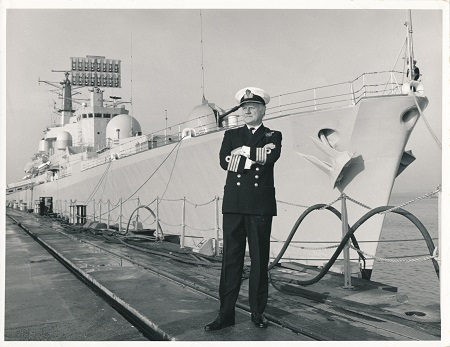 Admiral Roddy and ship