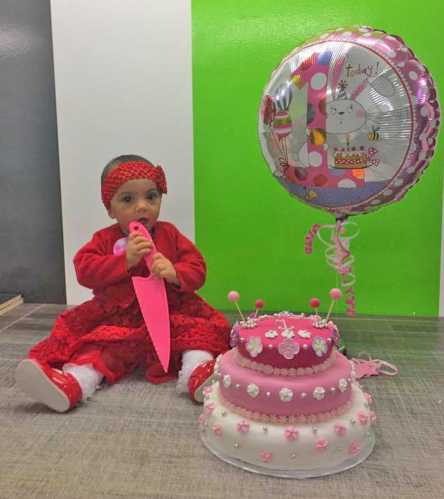 Hafsa celebrates her milestone