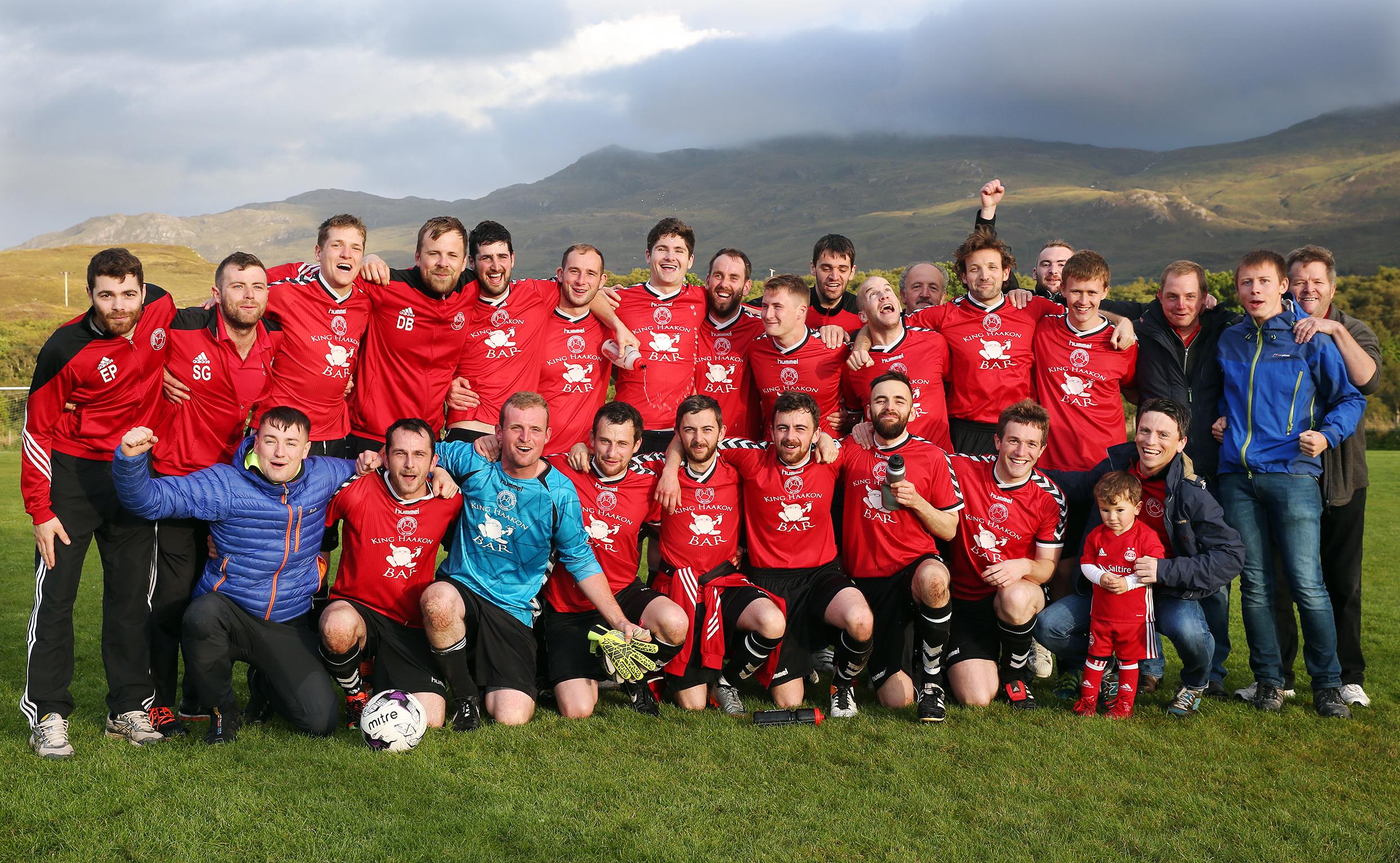 KYLEAKIN FC 17 - LEAGUE WINNERS
