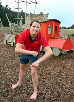 Charlene will dance all day in aid of Comic Relief