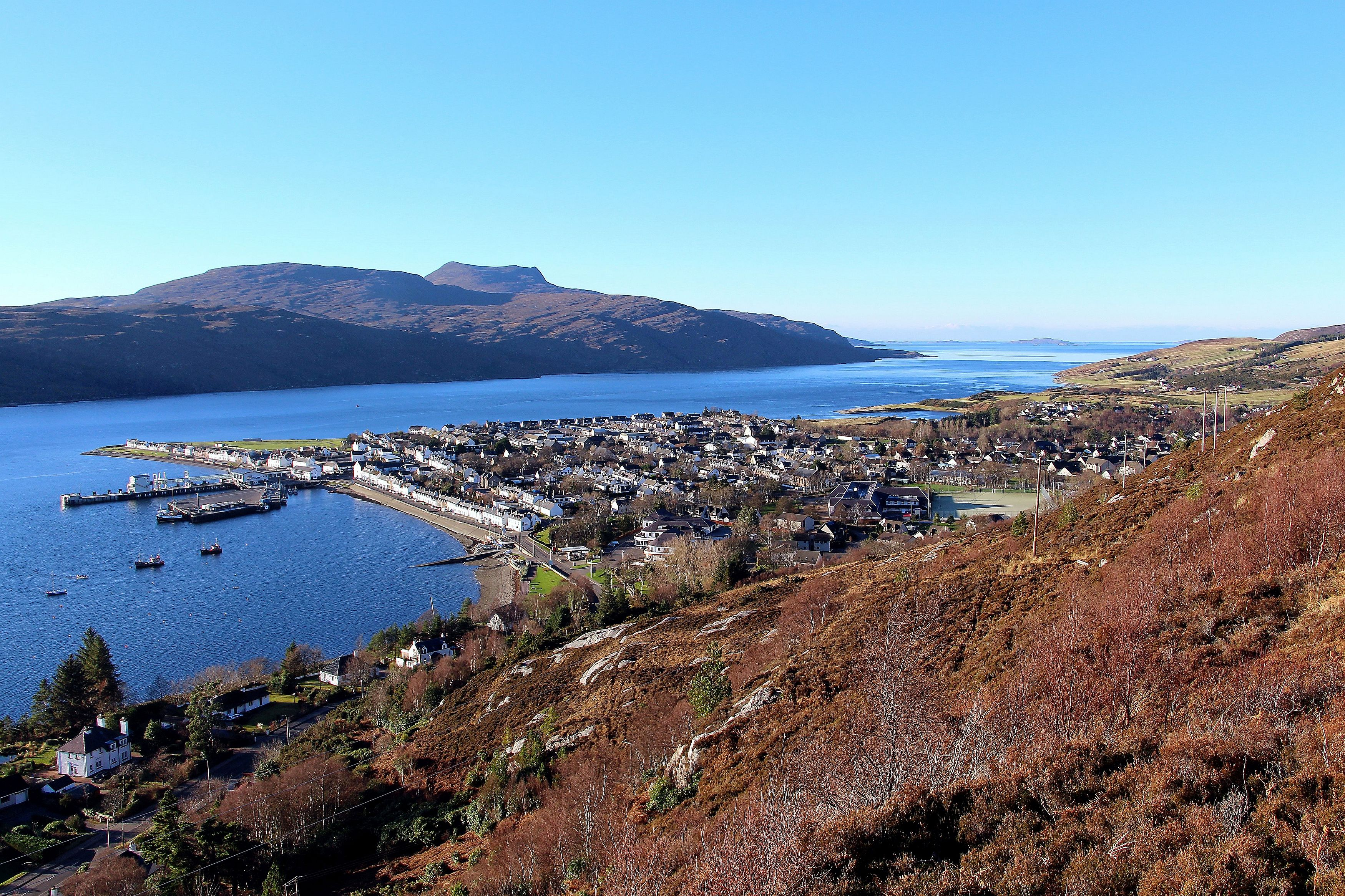 Ullapool from the hill 3 Irfan
