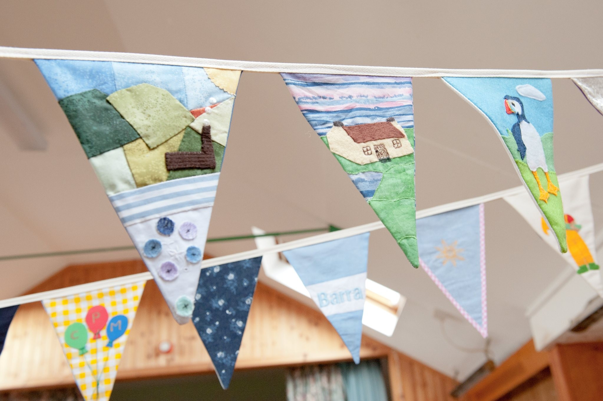 Epic Award winning Barra bunting