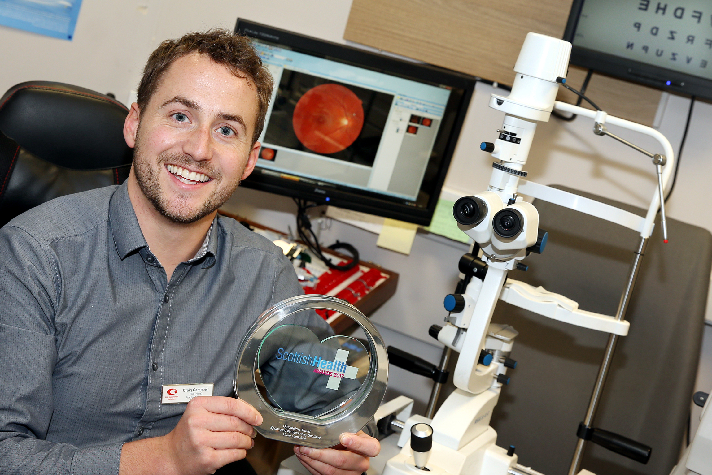 6b5431461430 Dornie optometrist honoured at Scottish Health Awards – West ...